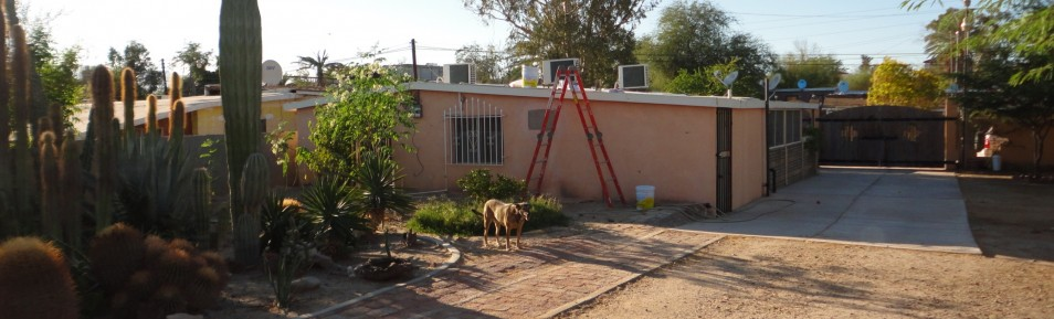 NICE HOME WITH CASITA IN TOWN ON LARGE LOT